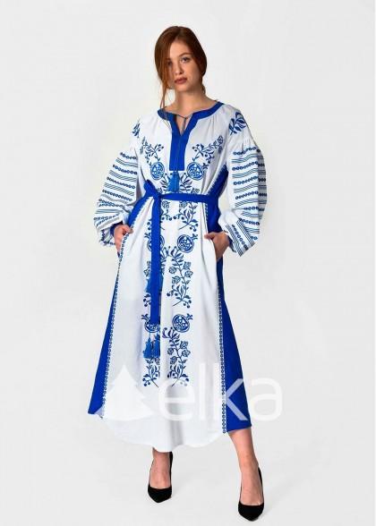 Платье вышиванка Казачка
