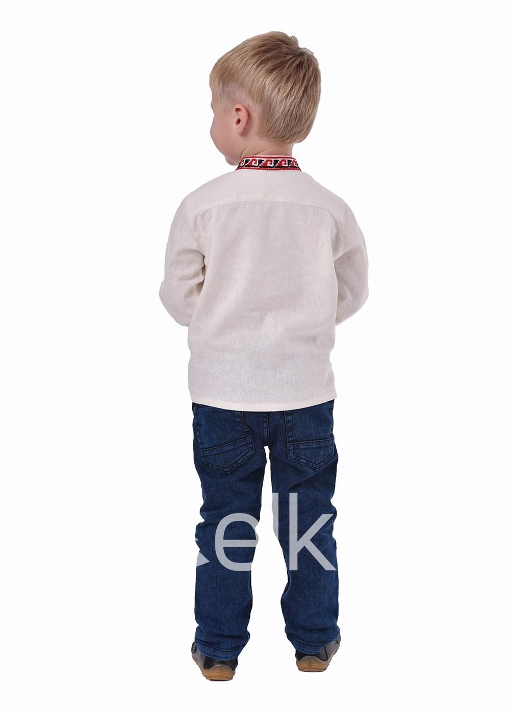Детская вышиванка оберег