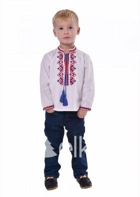 Детская вышиванка Ромбы Косач