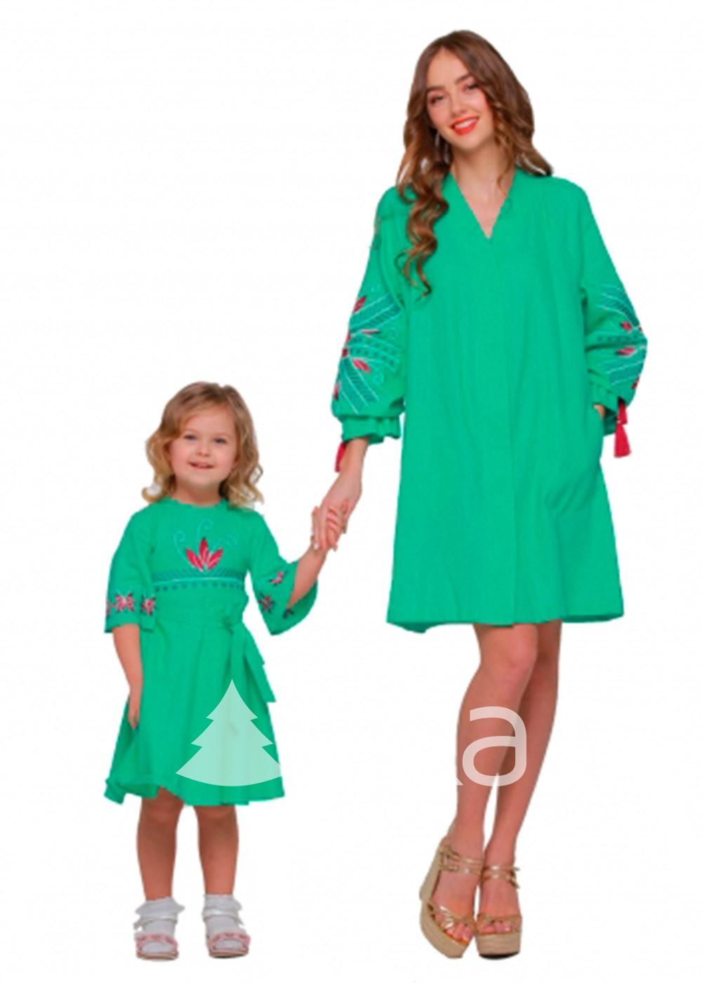 Платье вышиванка Сияние