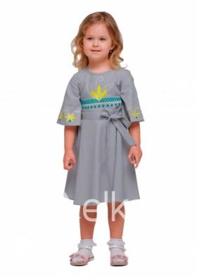 Платье вышиванка Цветочки