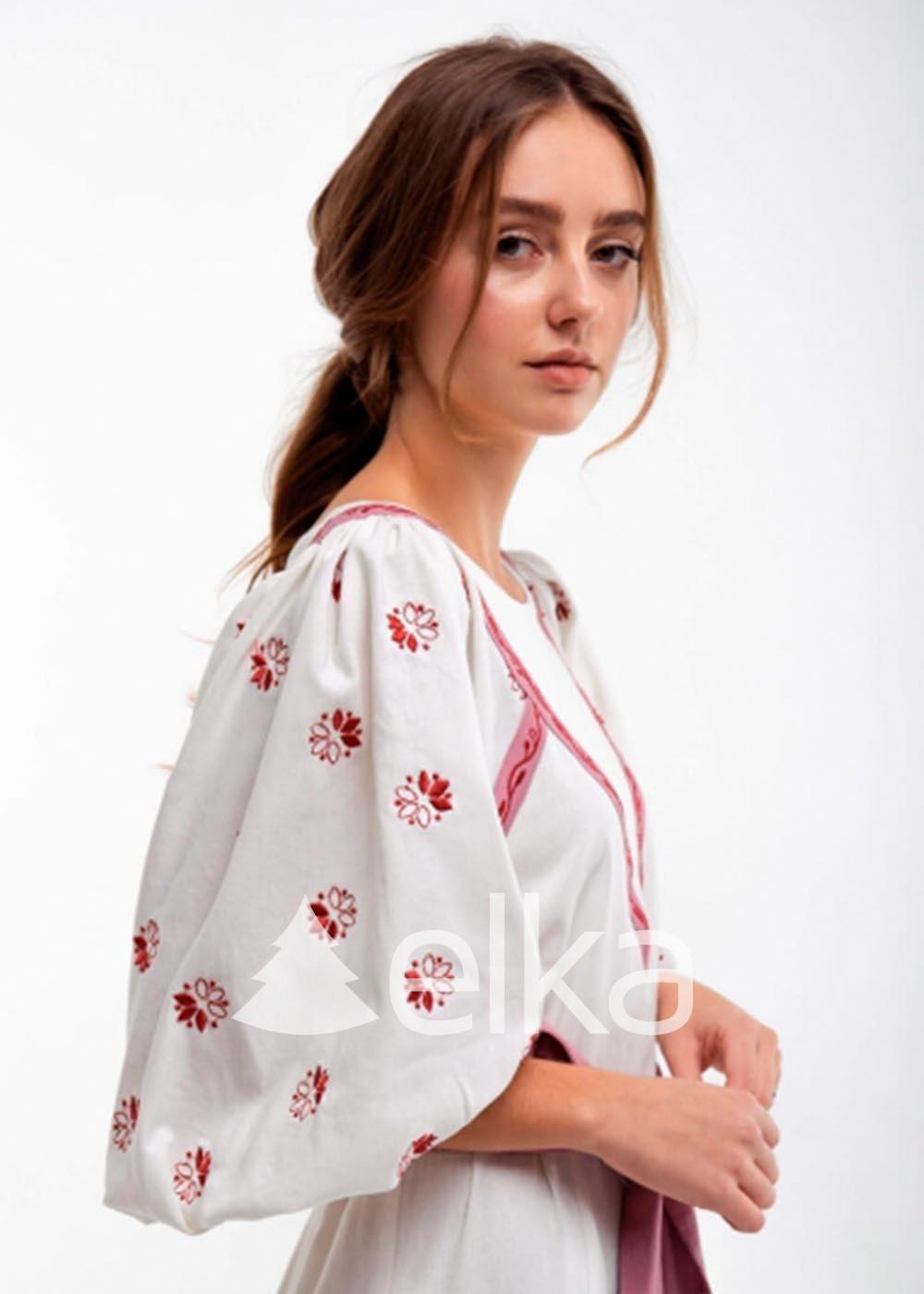 Платье вышиванка Леля