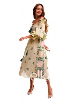 Платье вышиванка Барвинок