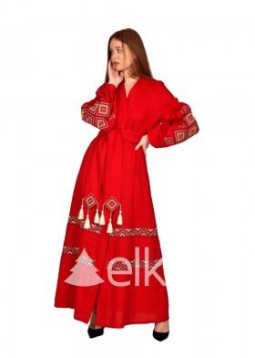 Платье вышиванка Созвездие