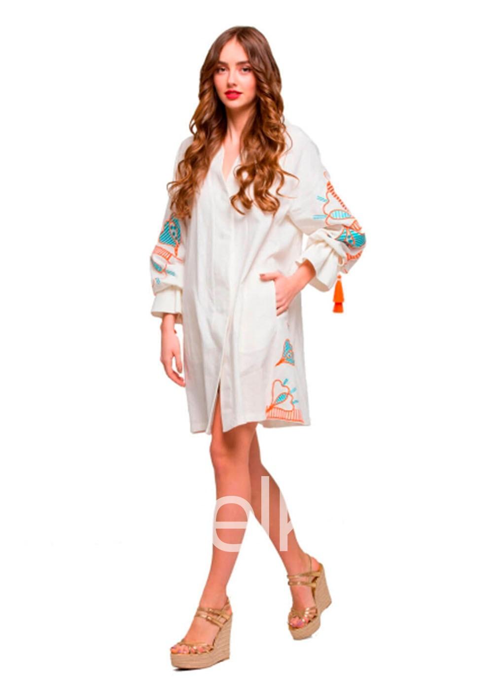 Платье вышиванка Первоцвет