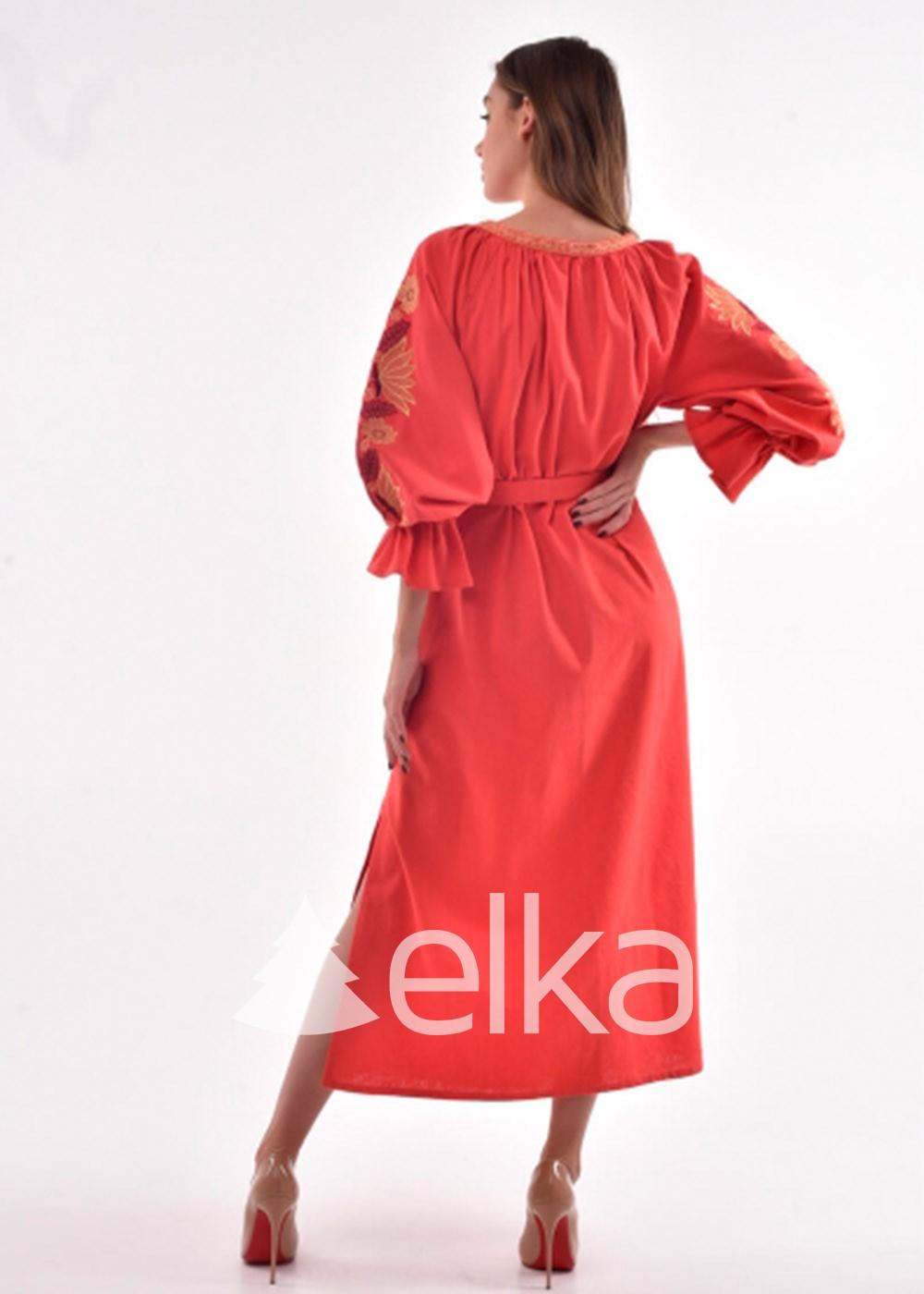 Платье вышиванка Муза