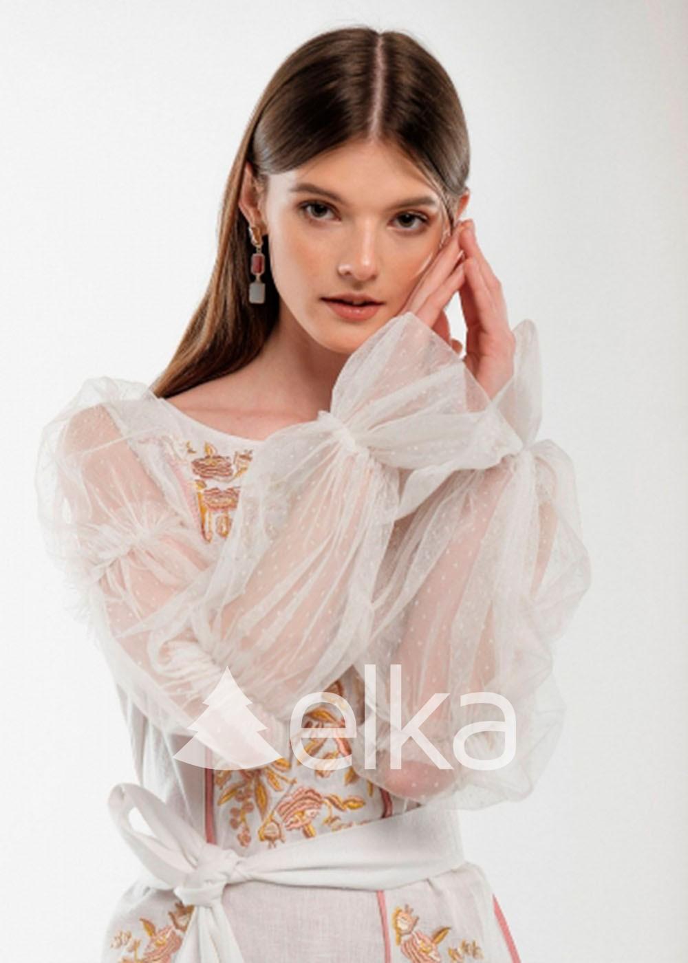 Платье вышиванка Лелийка