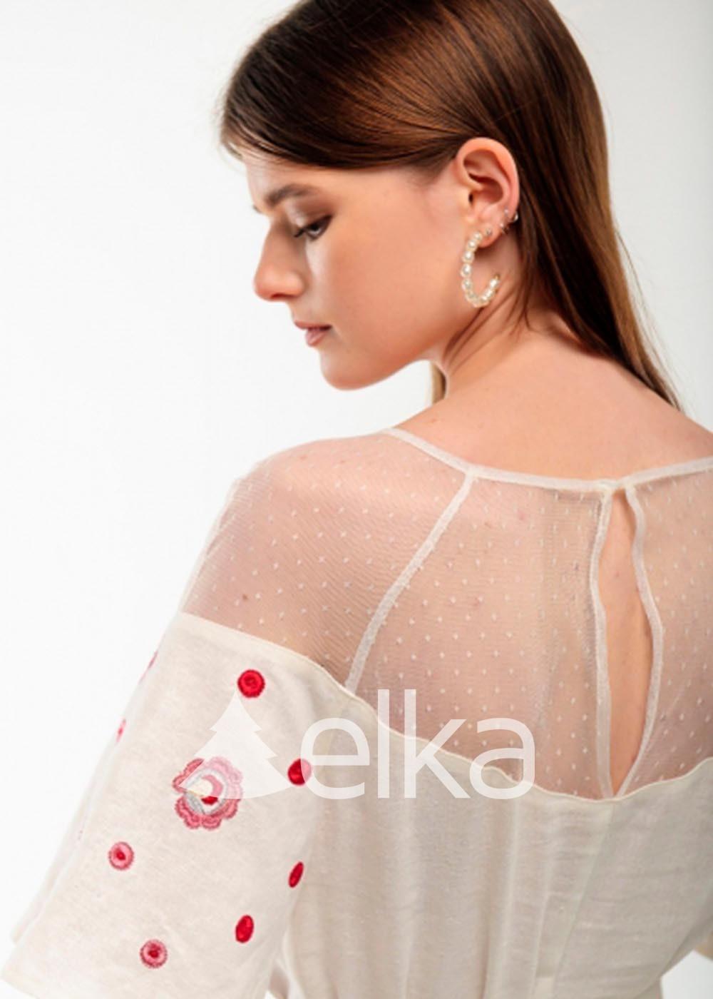Платье вышиванка Ягодка