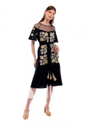 Платье вышиванка Ягода