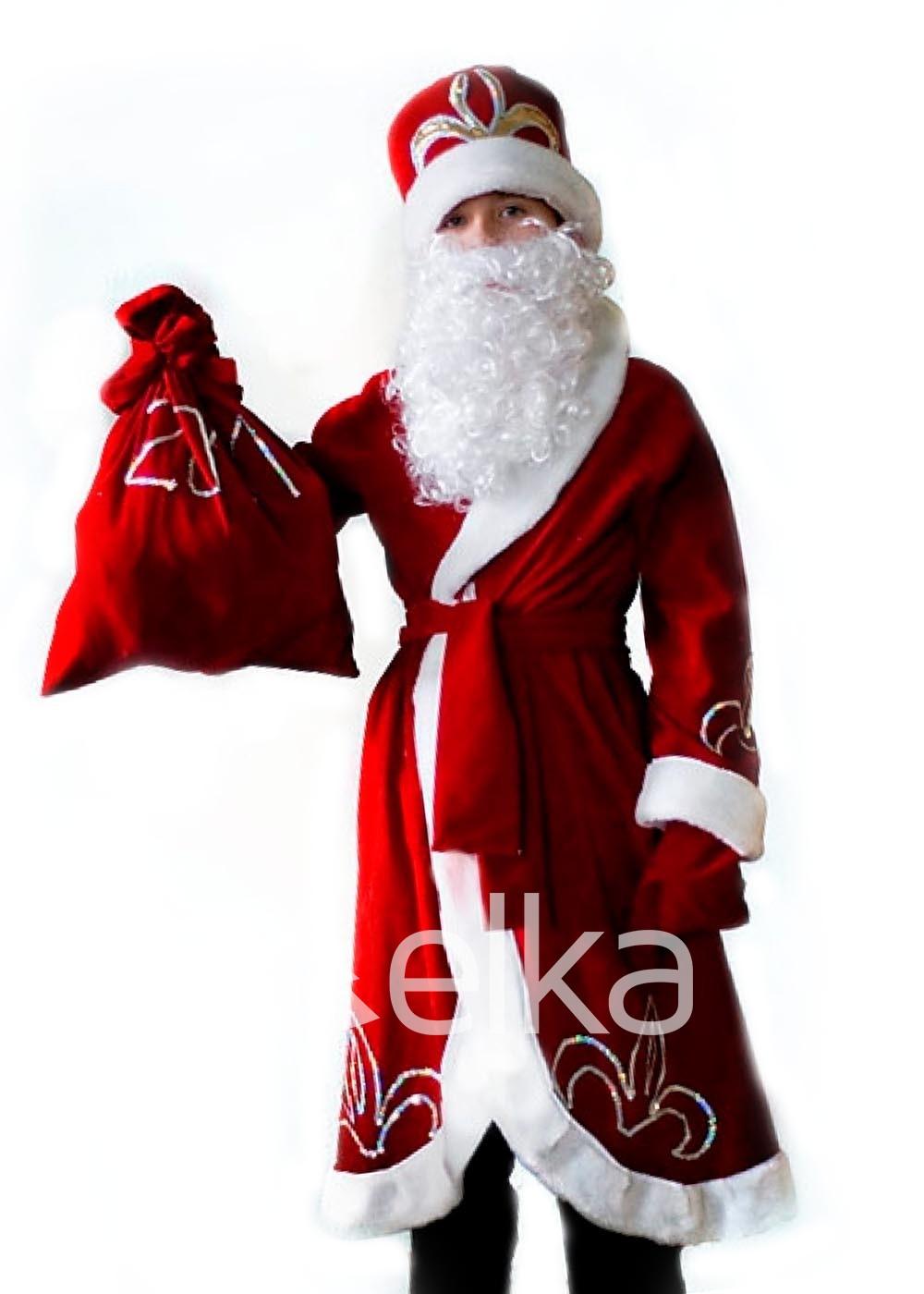 Костюм Деда Мороза для мальчика