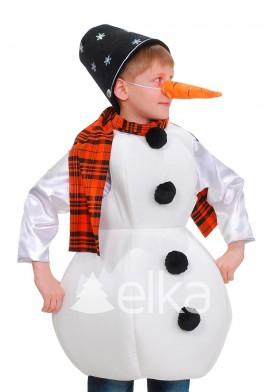 Костюм Снеговика для мальчика