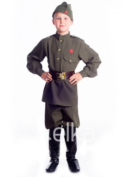 Костюм Солдата для мальчика военного