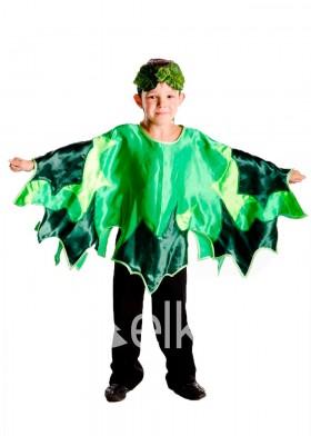 Костюм Зеленого листика для мальчика дерево