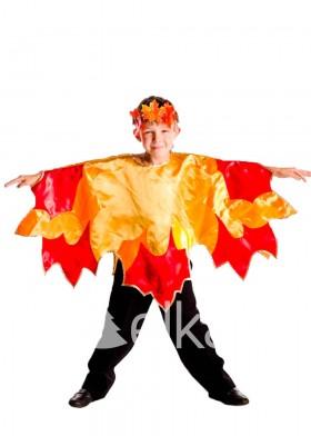 Костюм Осени для мальчика листик