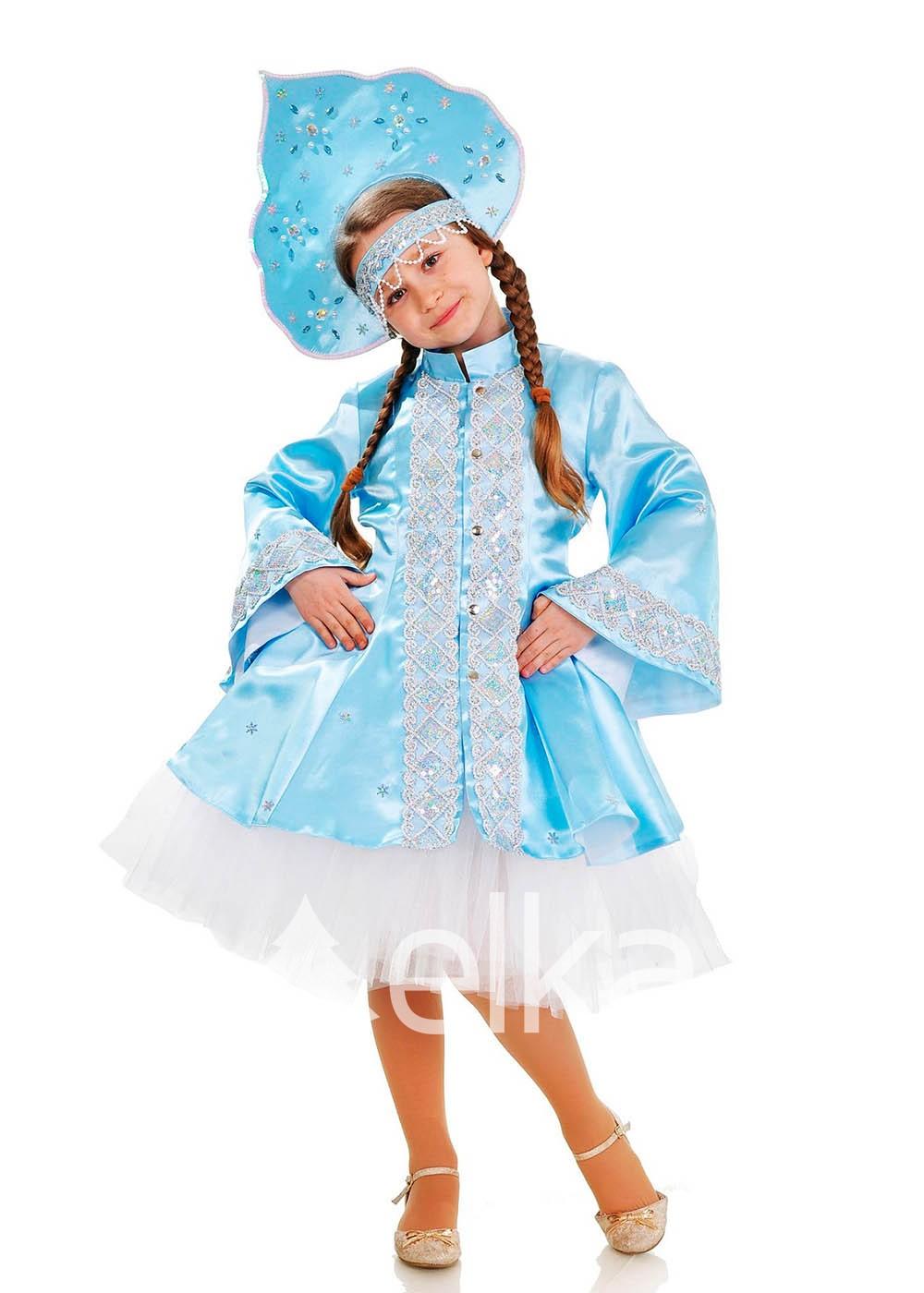 Костюм Снегурочка с юбкой пачкой