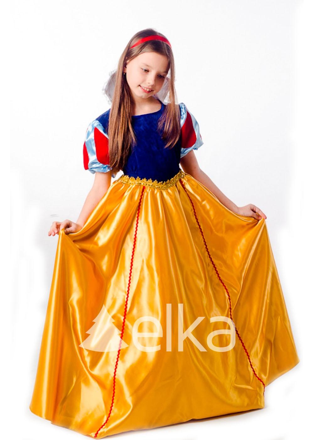 Костюм Белоснежки принцесса