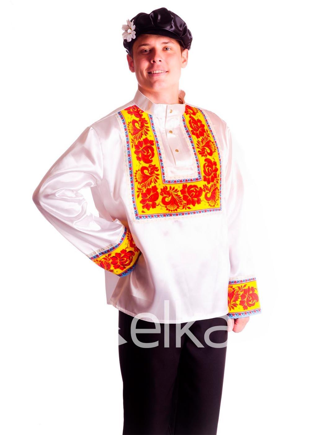 Костюм Хохлома белый