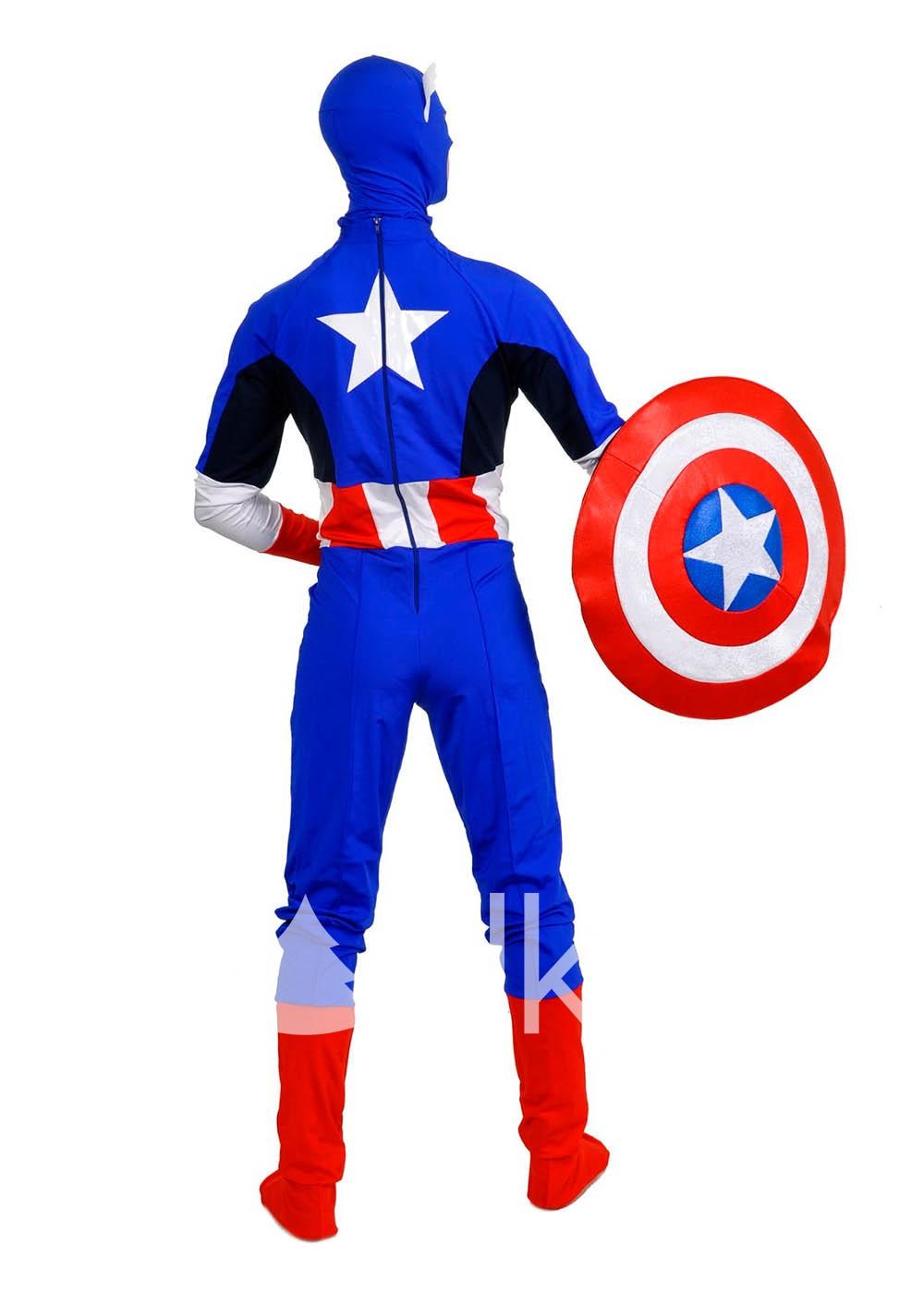 Костюм Капитана Америка