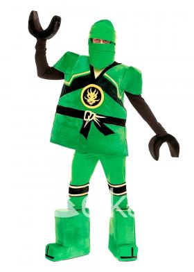 Костюм Зеленый ниндзя ниндзяго