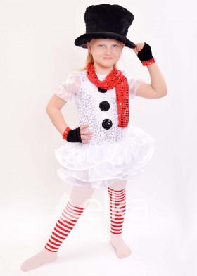 Карнавальный костюм Снеговик девочка