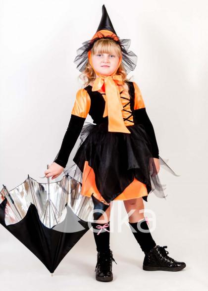 Костюм Ведьмочки на Хэллоуин