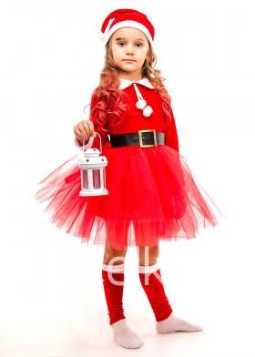 Костюм подружка Санта Клауса