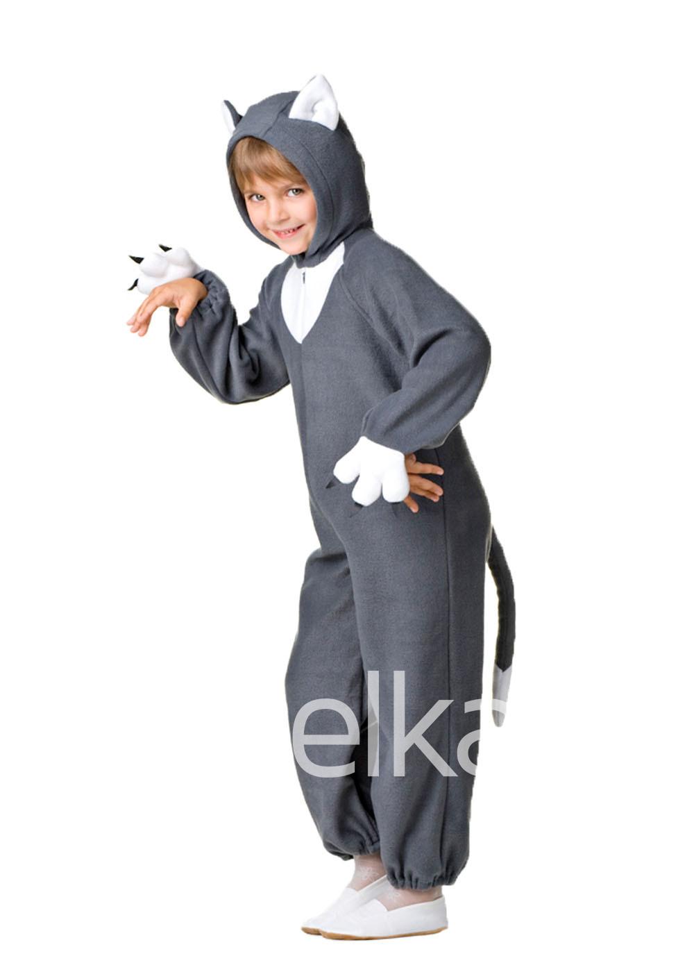 Карнавальный костюм Котик серый