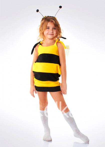 Карнавальный костюм Пчелка флис