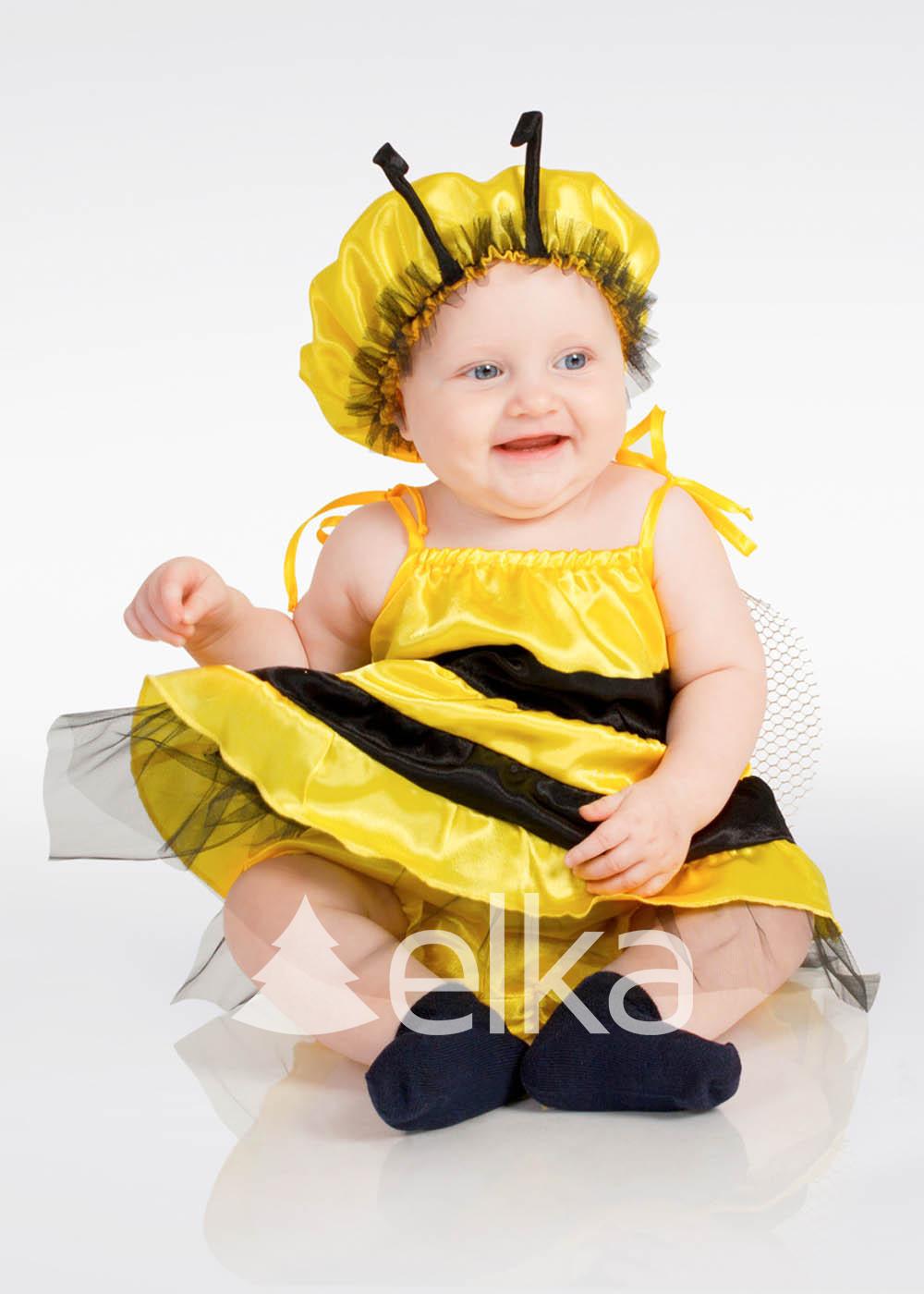 Карнавальный костюм Пчелки мини