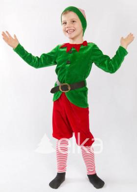 Карнавальный костюм Рождественский Эльф
