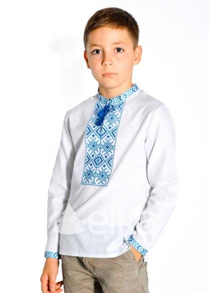 Детская вышиванка для мальчика Гуцульщина