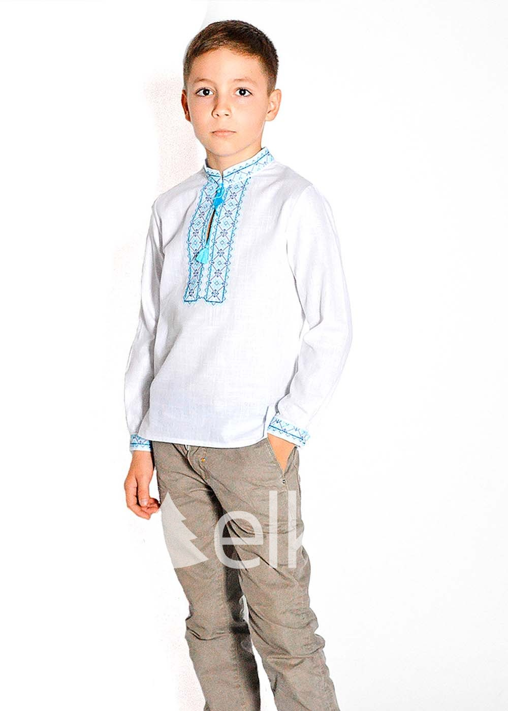 Детская вышиванка для мальчика Киевская