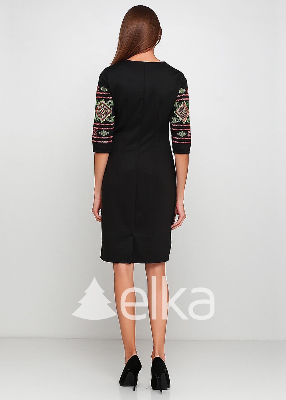 Вышитое платье Этель