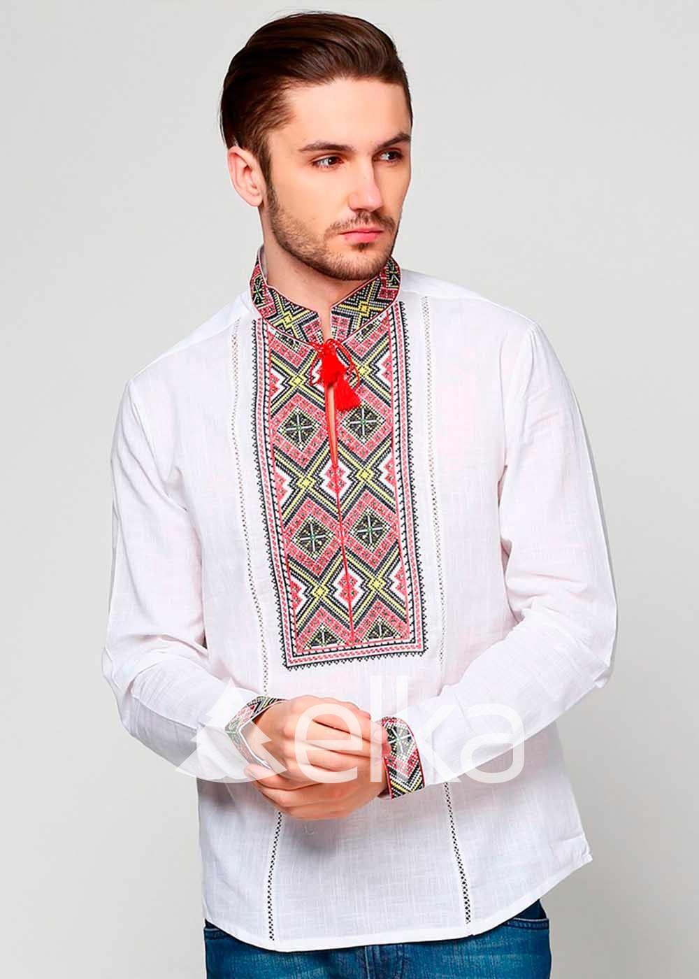 Мужская вышиванка Закарпатская
