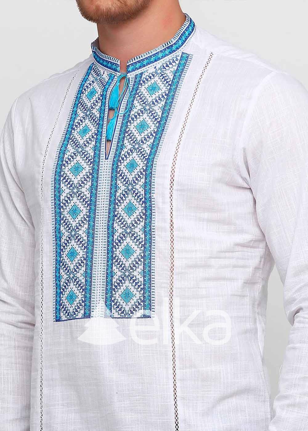 Мужская вышиванка Запорожская