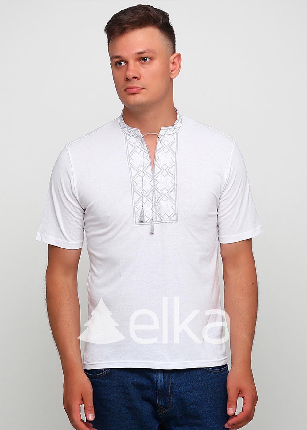 Мужская вышитая футболка Народная