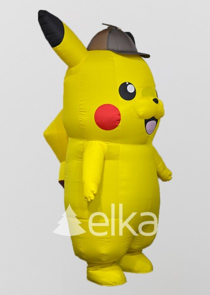 Надувной костюм Покемон детектив Пикачу