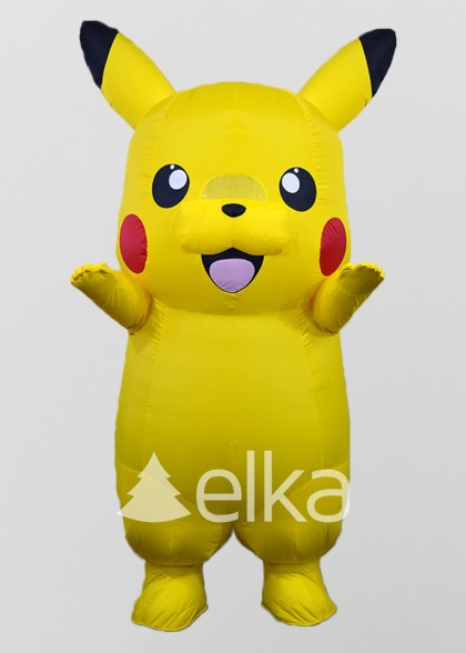 Надувной костюм Покемон Пикачу