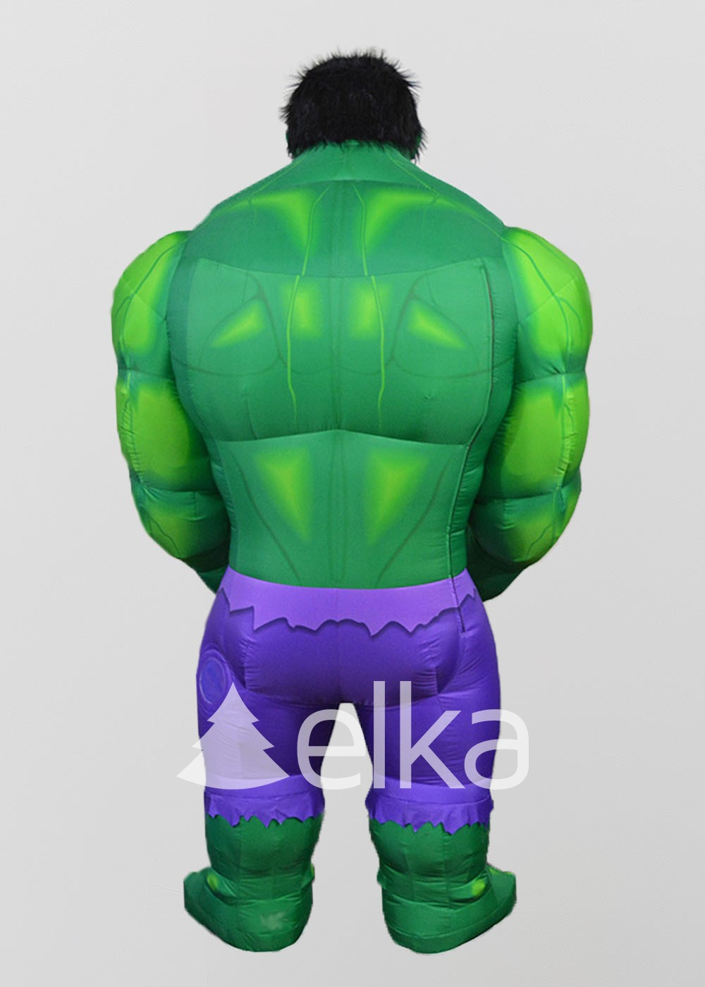 Надувной костюм Халк