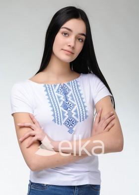 Вышитая футболка Закарпатская