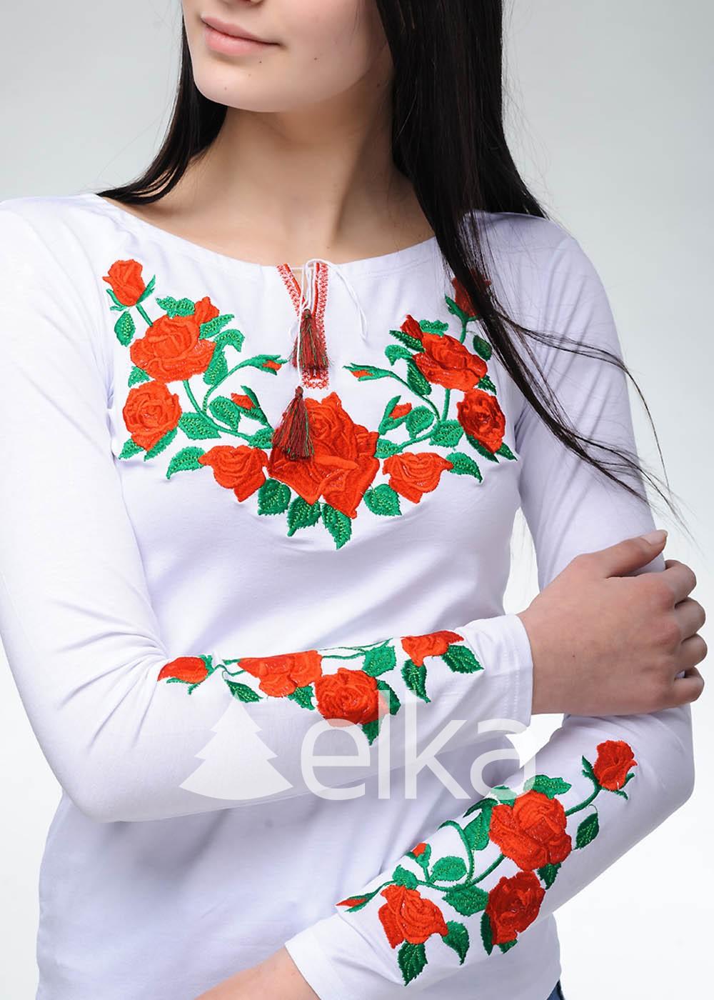 Вышиванка женская Роза