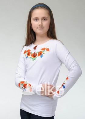 Кофта вышиванка Васильки