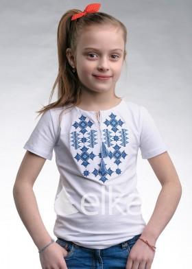 Вышитая футболка Звездное сияние