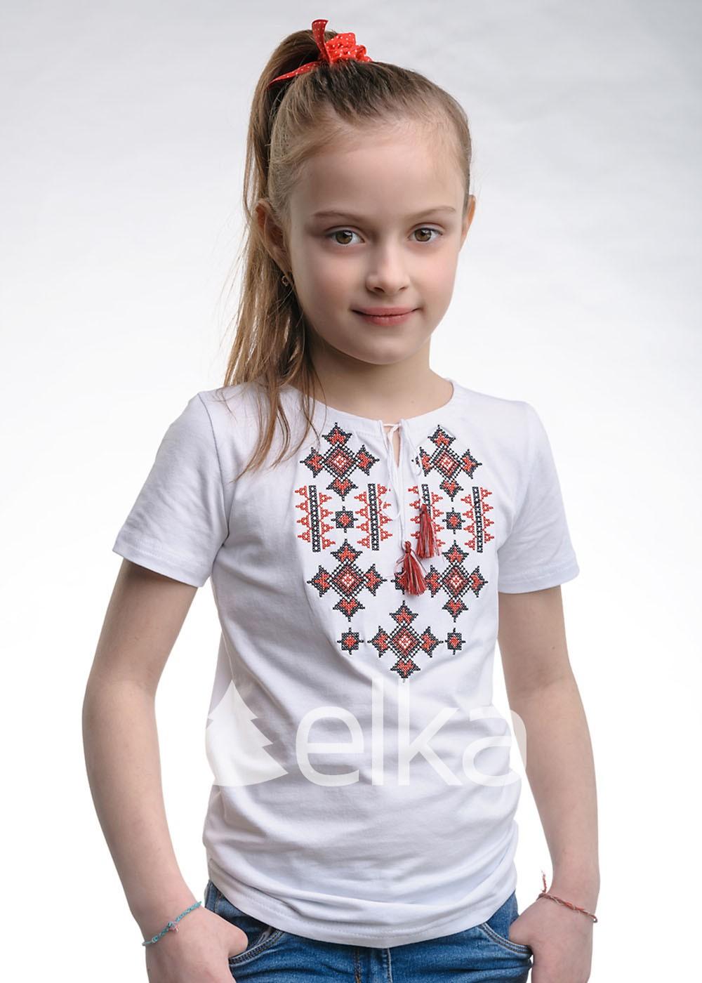 Вышитая футболка Сумская