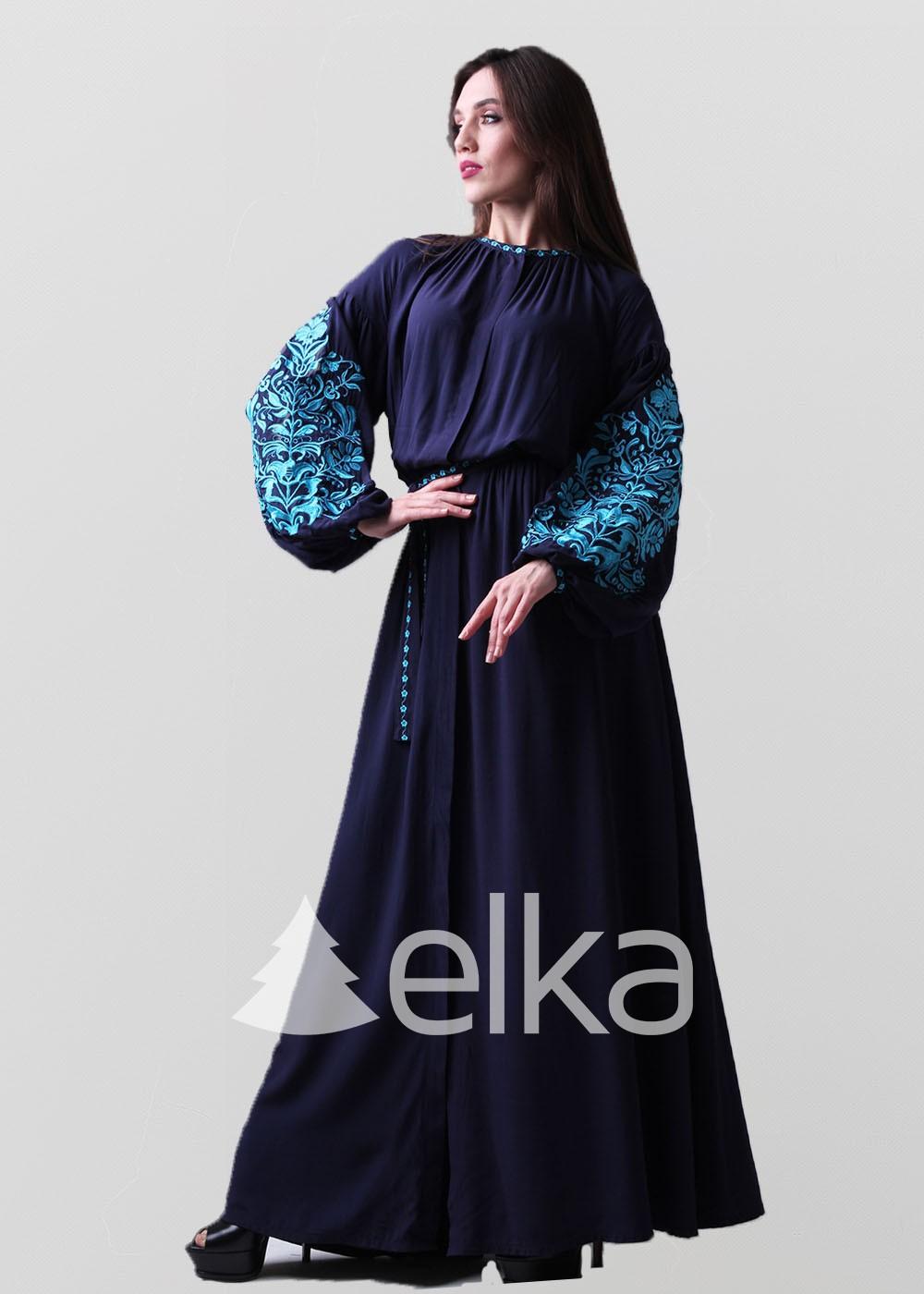 Платье вышиванка Дерево жизни