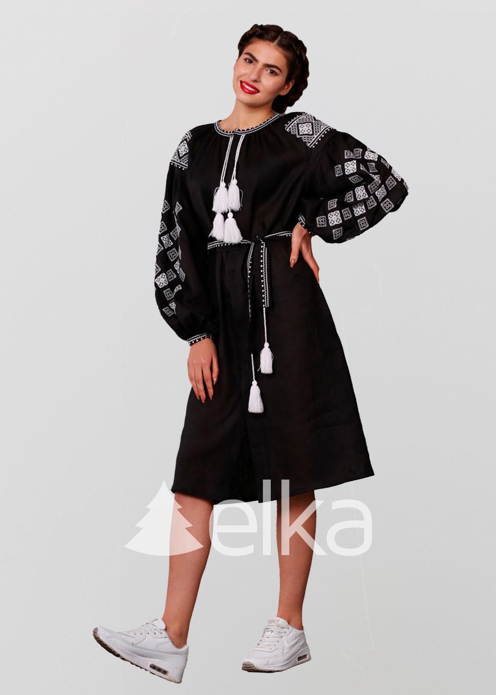 Платье вышиванка Окошко