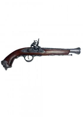 Пиратский кремневый пистолет, Италия XVIII в.