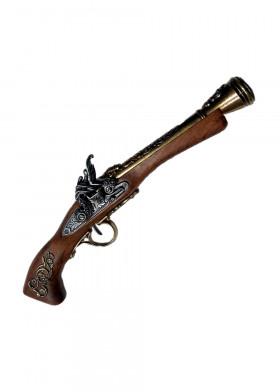 Кремниевый пистолет, США, XVIIIв.