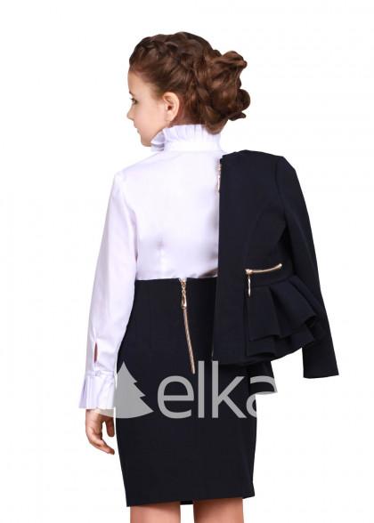 Пиджак темно - синий