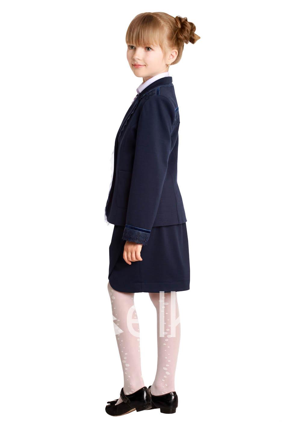 Пиджак темно синий